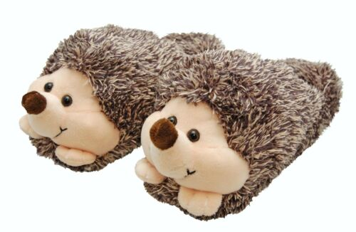 Pug or Rabbit Owl Cozy Time Animal Slippers Choose from Hedgehog