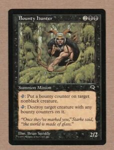 MTG - Bounty Hunter - Tempest - Rare EX/NM - Single Card