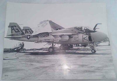 Foto Originale Grumman A6 Va-65 Tigers Uss Indipendence Original Picture 40x30