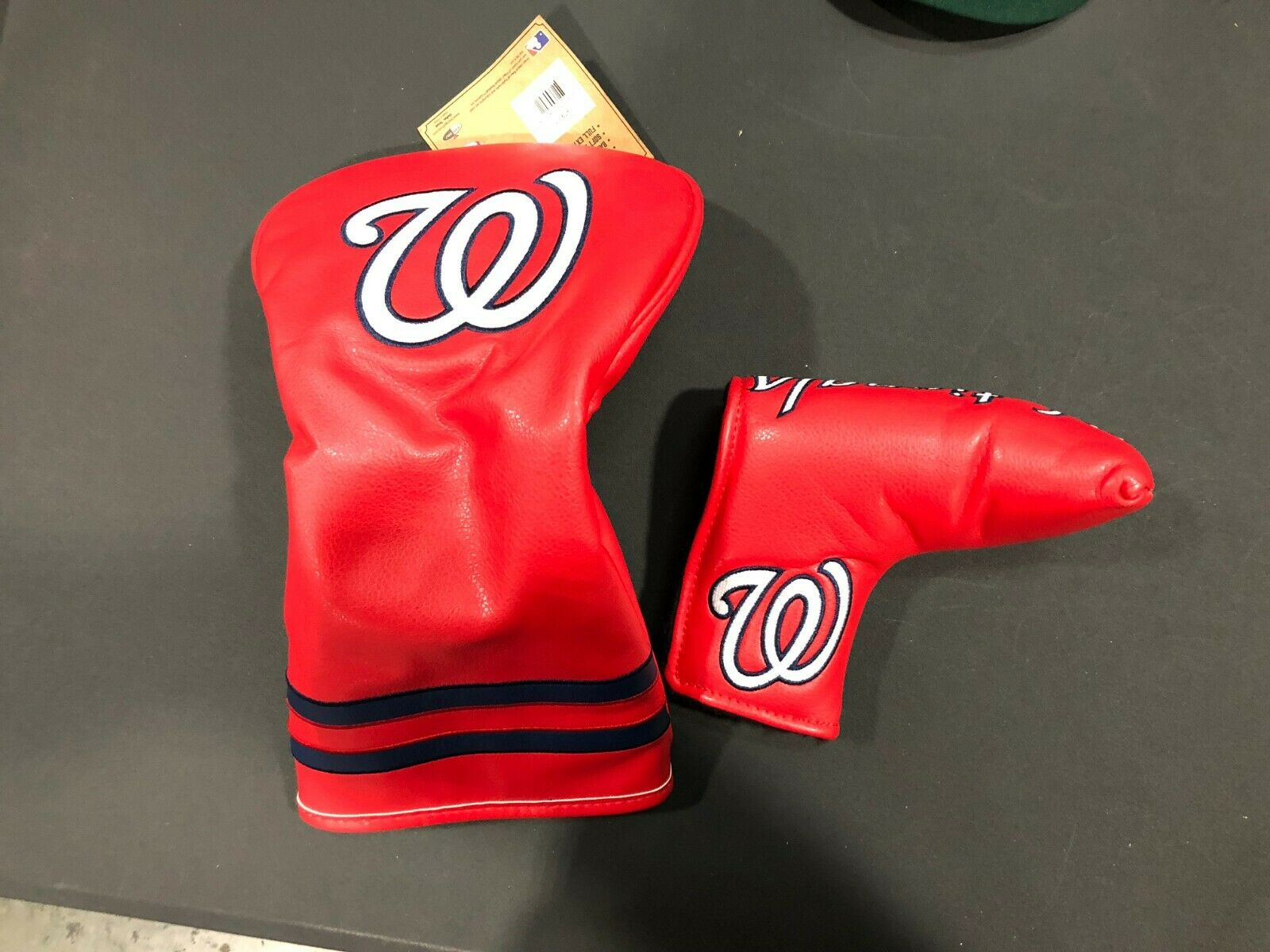 Totalmente Nuevo Controlador de los Nacionales de Washington & Putter Headcovers