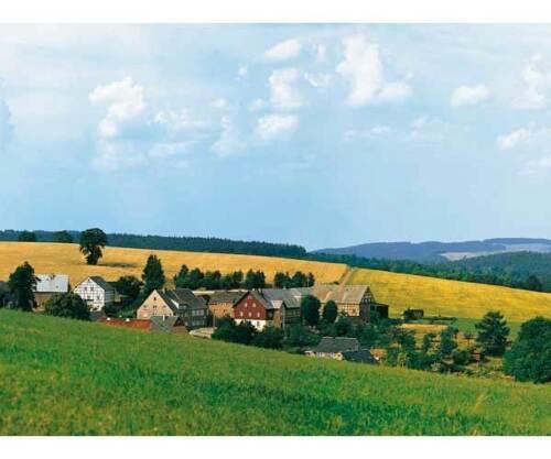 Auhagen 42508 Hintergrund Wolkenstein//Erzgebirge