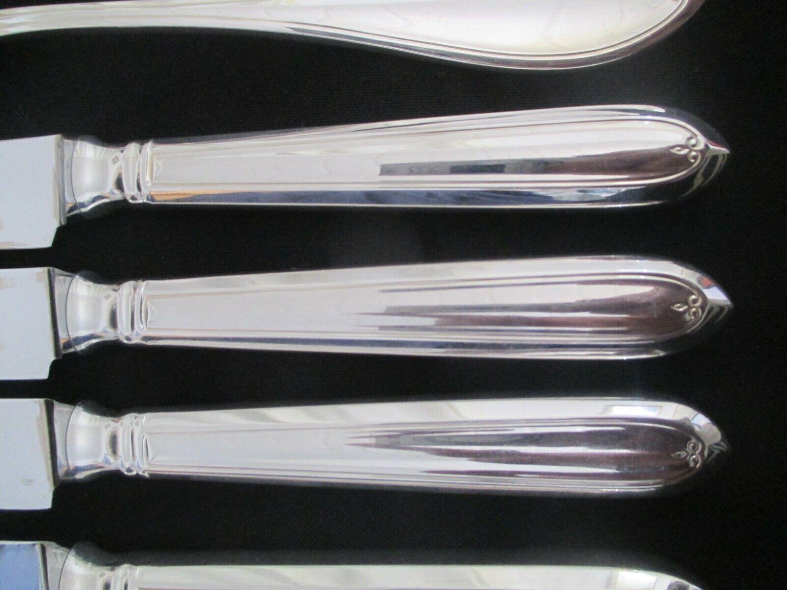 WMF Premiere 90 Silber 6 Personen 12 12 12 tlg Note 1-2 Menümesser Menügabel neuwertig     | Verschiedene Waren  263248