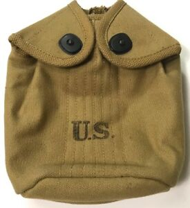 WWI-WWII-US-M1910-CANTEEN-CARRY-COVER