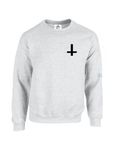Inverted Cross Wasted Youth Tumblr Anti Jumper Hipster Dope S.CROSS,SWEATSHIRT