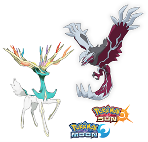 Shiny xerneas yveltal 6iv ev trained battle ready pokemon sun moon ebay - Legendaire shiney ...
