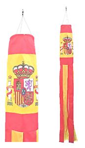 Spain State Flag Nylon 5' Windsock