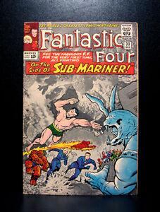 COMICS-Marvel-Fantastic-Four-33-1964-1st-Attuma-app-RARE