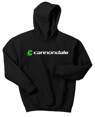 CANNONDALE BICYCLE HOODIE SWEAT SHIRT MOUNTAIN BIKE ROAD RACE CYCLE MTB