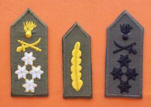 3 THREE STAR LIEUTENANT LT GENERAL 0-9 US MARINES COLLAR ONE HAT PIN OFFICER