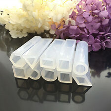 10pcs//set Silicone Molds Resin Necklace Jewelry Pendant Casting DIY Making Tools