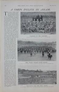 1901-PRINT-ASSAM-WARDEN-OF-THE-MARCHES-LIET-MACLAUGHLIN-SURMA-VALLEY-LIGHT-HORSE