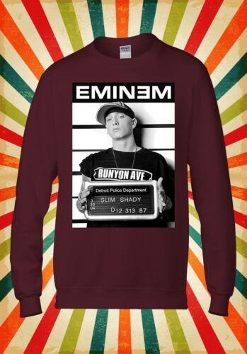 EMINEM Slim Shady rap cool divertente Uomini Donne Unisex Top Felpa Con Cappuccio Felpa 2139