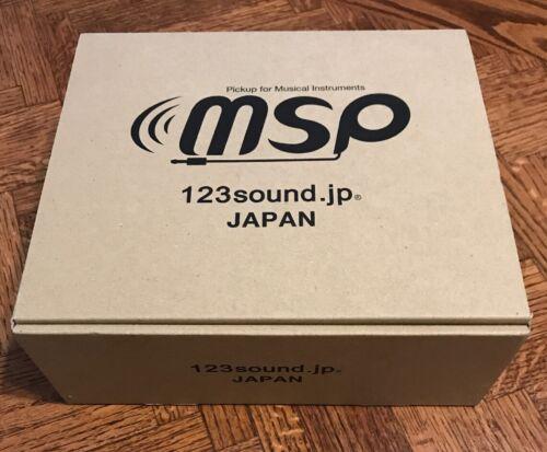 "MSP pickup high-end kit //Female jack connector for Musical Instruments 1//4/"""
