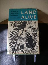 Land Alive:The World of Nature at One Family's Door by Ronald N. Rood (1962,...