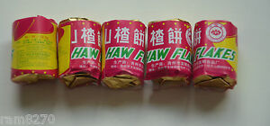 12gram Hawthorn Haw Flakes Traditional Chinese Candy Sweets Fruit