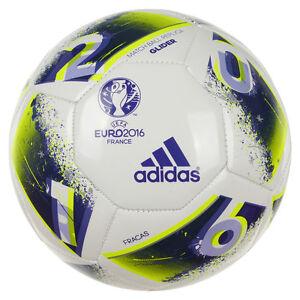 Détails sur Adidas Uefa Euro 2016 Fracas Football Match Ball Replica Planeur Pitch Outdoor afficher le titre d'origine