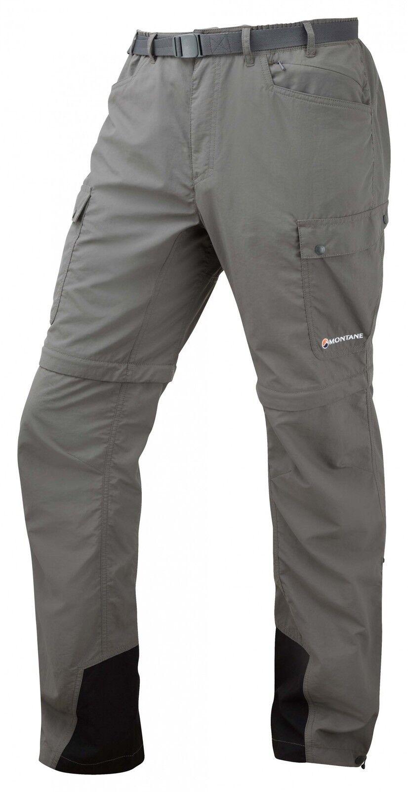 Montane Terra GT converdes ZIP-off pant, ZIP off  señores pantalones, Graphite  oferta de tienda