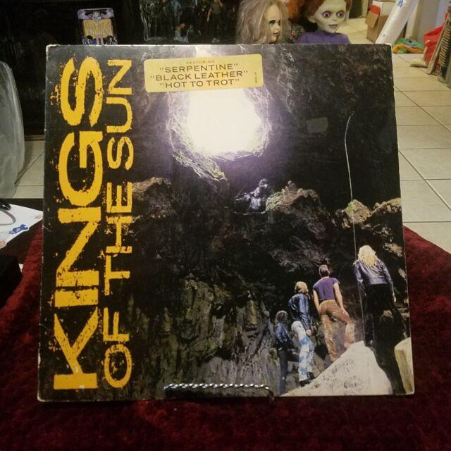 Kings of the sun PROMO lp super rare 1988 metal promotional