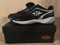 In Box Easton Foundation Trnr Black/silver Coaches Shoe M33296