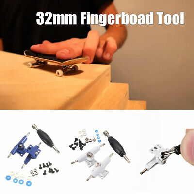 Fingerboard Tool Accessories 32mm Trucks Screws Wheel Nuts Spacers Screwdriver
