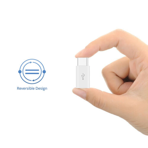 USB-C to Micro USB Adapter for USB Type-C Devices.Hi-speed 2-Pack USB C Adapter