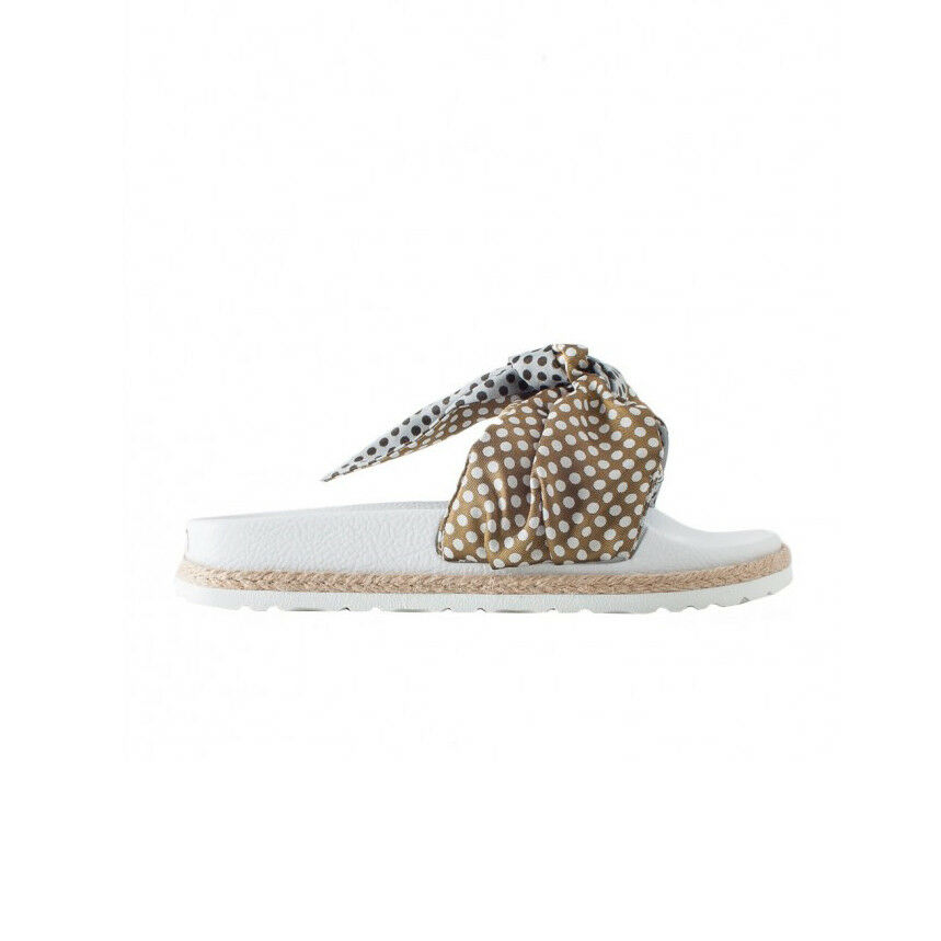 TOWN zapatillas mujer con lazo lunares mod LOMBOK ARCO 181 TWPBP MADE IN ITALY