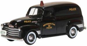 Oxford 87cv50002 h0 turismos Chevrolet panel van washington dc Police