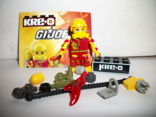 Kre-O Mini Figure Gi Joe Rare Kreo Complete Wave 2 Blowtorch