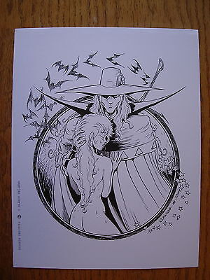 Greg Espinoza Art STAN LEE Pen /& ink Kirby Crackle 11x14 PRINT
