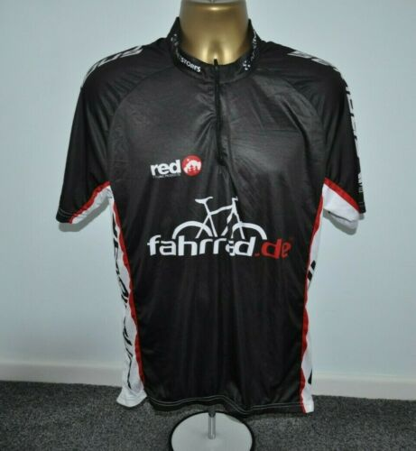 Red Fahrrad Maillot de cyclisme homme taille XL