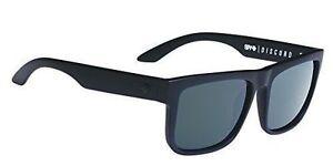 13d50634be5 Spy Optic Discord Square Soft Matte Black Happy Gray   Green 57mm Sunglasses