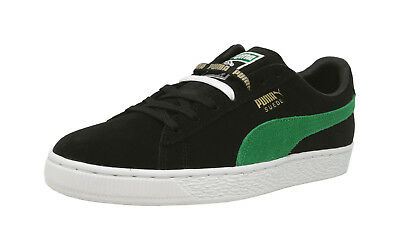 PUMA Suede Classic XL Black Green White Lace Sneakers Men Shoes 50th Anniversary | eBay