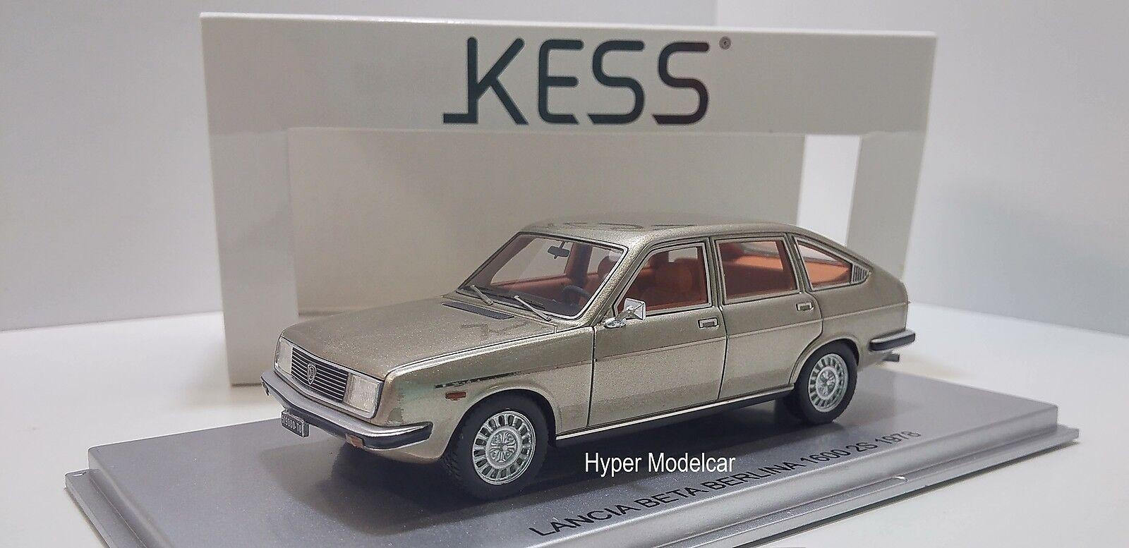 KESS MODEL 1 43 Lancia Beta Berlina 2000 2-series 1978 Platino Art. KE43019000