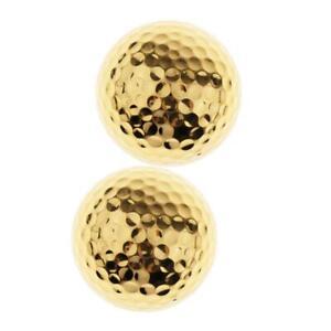 2-Pack-Golf-Practice-Training-Ball-1-65-039-039-Golden-Balls-for-Driving-Range
