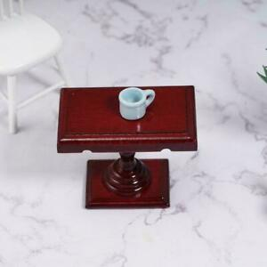 Mini Dollhouse Miniature Accessories Alloy Clipboard Paper with Attached Re J4J8