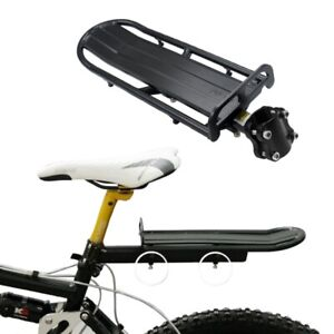 NEW-Adjustable-Aluminum-Alloy-Bike-Mount-Cycle-Bicycle-Rear-Seat-Rack-O7W3