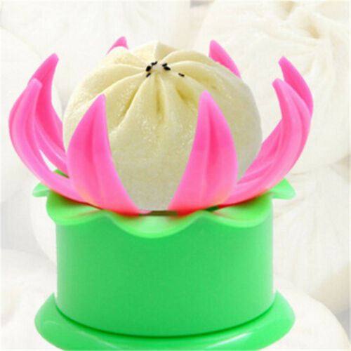 1Pcs Pâtisserie Gâteau Vapeur Bun Dumpling Maker Moule cuit à la vapeur en peluche Buns Makings Mo M.