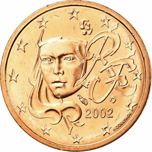753990-France-2-Euro-Cent-2002-MS-65-70-Copper-Plated-Steel-KM-1283