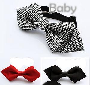 1PC-Boys-Kids-Children-Party-School-skull-Wedding-dance-bow-tie-Necktie-bowtie