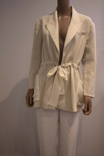 Vionnet Paris Blazer Silk Linen And rnSxRq8rHw