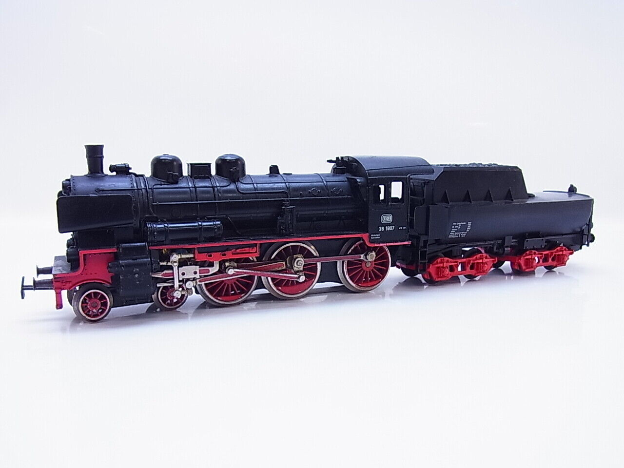 Lot 58066   Märklin h0 3098 locomotiva con tender BR 38 delle DB pronto di guida