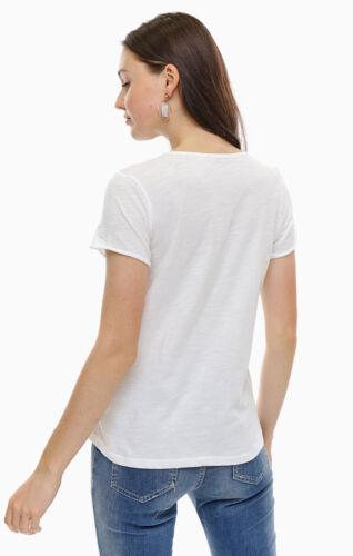 More /& More Femmes tshirt 8104 0055 Blanc Ananas Pression