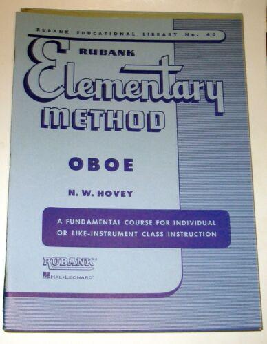 Oboe #40 Rubank Elementary Method