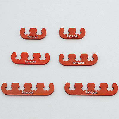 Taylor 42820 Red Clip-On Spark Plug Wire Separators
