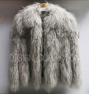 b4d1a07f67eb4 CREATURES OF THE WIND mongolian lamb coat rare (size 6-OVP  3500USD ...
