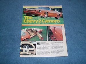 1980-Chevy-Camaro-Z28-Vintage-Info-Article-034-Moving-Ahead-into-the-Eighties-034-Z-28