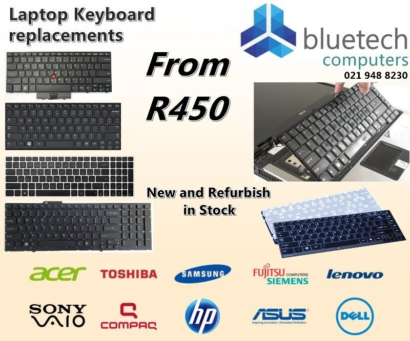 Acer Laptop Keyboard Replacement from R450 | Bluetech Computers 021 948 8230.
