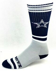 Dallas Cowboys For Bare Feet NFL Got Marbled Mens Crew Socks