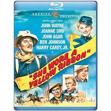 SHE WORE A YELLOW RIBBON (John Wayne, Agar) Blu Ray - Region free