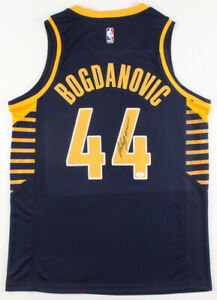 info for 792ce e7c21 Details about Bojan Bogdanovic Signed Indiana Pacers Nike Jersey (JSA)NBA  All-Rookie Team 2015